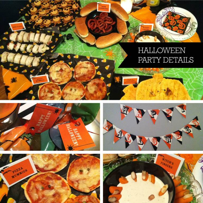 Halloween Party details